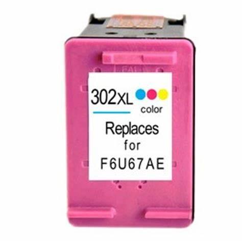 HP 302 Huismerk Cartridge kleur