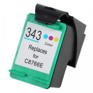 HP 343 Huismerk Cartridge kleur