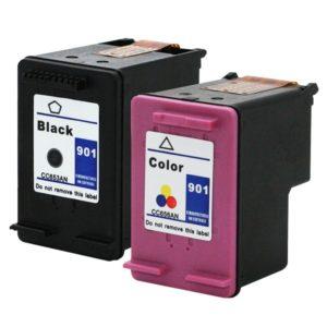 HP 901 Zwart en kleur