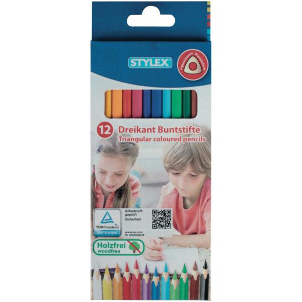 Kleur-potloden set Bic-Styles